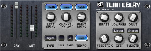 Twin Delay VST